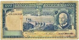 Angola - 1000 Escudos - 10.06.1970 - Pick 98 - Série V2 HG - Américo Tomás - PORTUGAL 1 000 - Angola