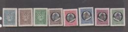 Vatican City S 91-98 1945 Definitive2,mint Hinged - Vatican