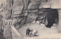 Sassenage France, Entrance To Caves,  C1900s/10s Vintage Postcard - Sassenage