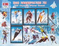 North Korea  2006 XX Olympic Winter Game  Sheetlet CTO - Korea (Nord-)