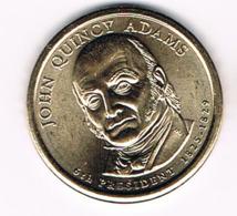 1 Dollar John Quincy Adams, UNC, 2008 - EDICIONES FEDERALES