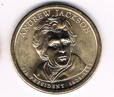1 Dollar Andrew Jackson, UNC, 2008 - EDICIONES FEDERALES