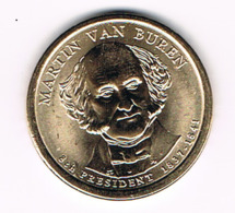 1 Dollar Martin Van Buren, UNC, 2008 - EDICIONES FEDERALES