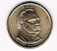 1 Dollar Grover Cleveland, UNC, 2012 - EDICIONES FEDERALES
