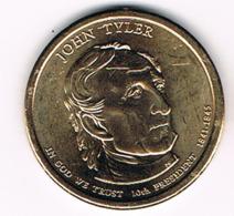 1 Dollar John Tyler, UNC, 2009 - EDICIONES FEDERALES