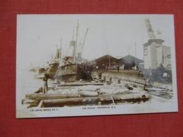 RPPC  The Wharf   Western Australia (WA) > Fremantle    Ref 3690 - Fremantle