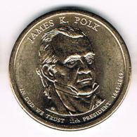 1 Dollar James K. Polk, UNC, 2009 - EDICIONES FEDERALES