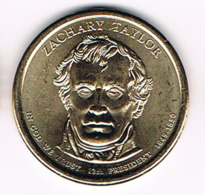 1 Dollar Zachary Taylor, UNC, 2009 - EDICIONES FEDERALES