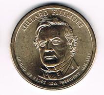 1 Dollar Millard Fillmore, UNC, 2010 - EDICIONES FEDERALES