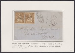 TI  STRAHLENSTEMPEL CERENTINO - CEVIO - LOCARNO AUF SUPER BRIEFLEIN - Lettres & Documents