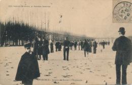 I144 - 38 - GRENOBLE - Isère - Joueurs De Boules à L'Esplanade - Grenoble