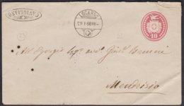 TI  STRAHLENSTEMPEL CAVIGLIANO - 1862-1881 Sitzende Helvetia (gezähnt)
