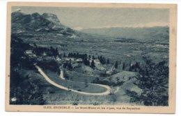 38 - GRENOBLE - Le Mont-Blanc Et Les Alpes, Vus De Seyssinet (A145) - Grenoble
