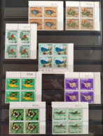 JAMAICA 1964 Definitive Series Complete Set In Blocks Of 4, 2 Images, All Mint NH Unmounted, Nice - Jamaica (1962-...)