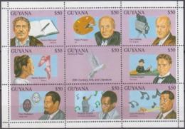 1993Guyana4161-4169KLBirds And Cultural Figures 8,50 € - Musica