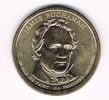 1 Dollar James Buchanan, UNC, 2010 - EDICIONES FEDERALES