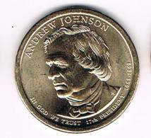 1 Dollar Andrew Johnson, UNC, 2011 - EDICIONES FEDERALES
