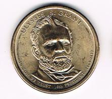 1 Dollar Ulysses S. Grant, UNC, 2011 - EDICIONES FEDERALES