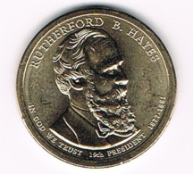 1 Dollar Rutherford B. Hayes, UNC, 2011 - EDICIONES FEDERALES