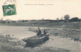 Avaray (41 - Loir Et Cher) Le Passeur - Les Bords De Loire - édit Bourbon Circulée 1910 - France