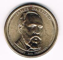 1 Dollar James Garfield, UNC, 2011 - EDICIONES FEDERALES