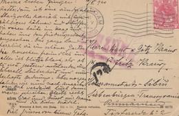Niederlande:1920: Rotterdam Nach Rumänien - Niederlande