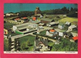 Modern Post Card Of Heritage Park Historical Village.Calgary, Alberta,Canada,X28. - Calgary
