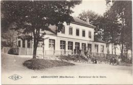 70 Haute Saone Hericourt Exterieur De La Gare - Francia