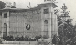 70 Haute Saone Hericourt Le Monument Aux Morts - Other Municipalities