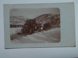 Trentino 1449 Foto Militare Photo Military Auto 1915 Portate Canoni - Italie