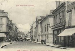 Les Hautes Pyrénées TARBES Rue Des Grands Fossés Et Tribunal Labouche RV - Tarbes