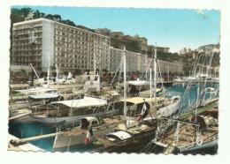 Principaute De Monaco. Le Port Et Ses Yachts Au Fond: Le Palais Princier. 1962. - Harbor