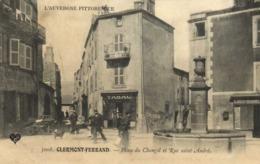 Clermont Ferrand Place Du Changil Et Rue St Anfré Fontaine Tabac  RV - Clermont Ferrand