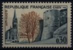 N° 1389 - X X - ( F 524 ) - ( Caen ) - Ungebraucht