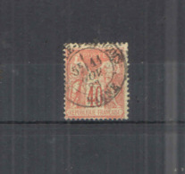 Francia PO 1877/80 Peace Commerce Tipo II°  Scott.95 See Scan On Album Schaubek; - 1876-1898 Sage (Tipo II)