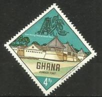 Ghana - 1967 Kumasi Fort  4np MNH   Sc 301 - Ghana (1957-...)