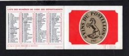 "1967 Calendrier De Poche "" Vins Du Postillon "" - Klein Formaat: 2001-..."