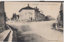 SAINT GAUDENS - AVENUE DE LUCHON ET MONTREJEAU - Saint Gaudens