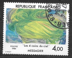 FRANCE 2300 Les 4 Coins Du Ciel De Jean Messagier . Art Peinture Peintre . - France