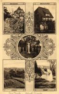 Detmold, Haus Teusler, Bülowstrasse, Mehrbild-AK, Um 1910/20 - Detmold