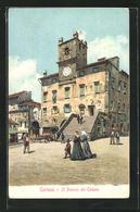 Cartolina Cortona, Il Palazzo Del Comune - Autres Villes