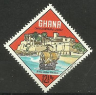 Ghana - 1967 Christiansborg Castle  12.5np MNH   Sc 302 - Ghana (1957-...)