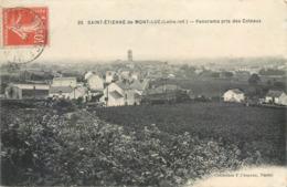 CPA 44 Loire Atlantique Inférieure Saint St Etienne De Mont Luc Panorama Pris Des Côteaux - Saint Etienne De Montluc