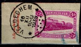 TR 176  Frgt  Obl. Relais  Sc  Veldeghem - Spoorwegen