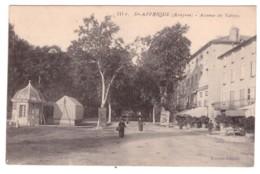 SAINT AFRIQUE Avenue De Vabres (carte Animée) - Saint Affrique