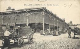 CHALONS-sur-MARNE ( 51 ) - Le Marché Couvert - Châlons-sur-Marne