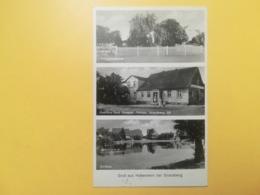 CARTOLINA POSTCARD GERMANIA DEUTSCHE 1939 PAESAGGI BOLLO PAUL VON HINDENBURG OBLITERE' POSTKARTEN - Germany