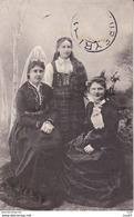 CPA   REYKJAVICK (Islande).  Jeunes Femmes En Costume Traditionnel Islandais. ...T507 - IJsland