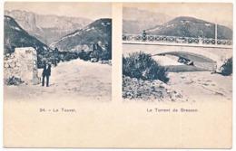 CPA 9 X 14 Isère LE TOUVET  Le Torrent De Bresson   Pont - France