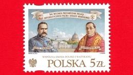 Nuovo - MNH - POLONIA - 2019 - Ripristino Relazioni Tra Santa Sede E Polonia - Benedetto XV - J. Piłsudski - 5 - Ungebraucht